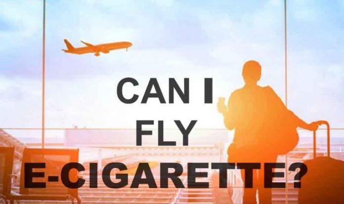 坐飞机带电子烟